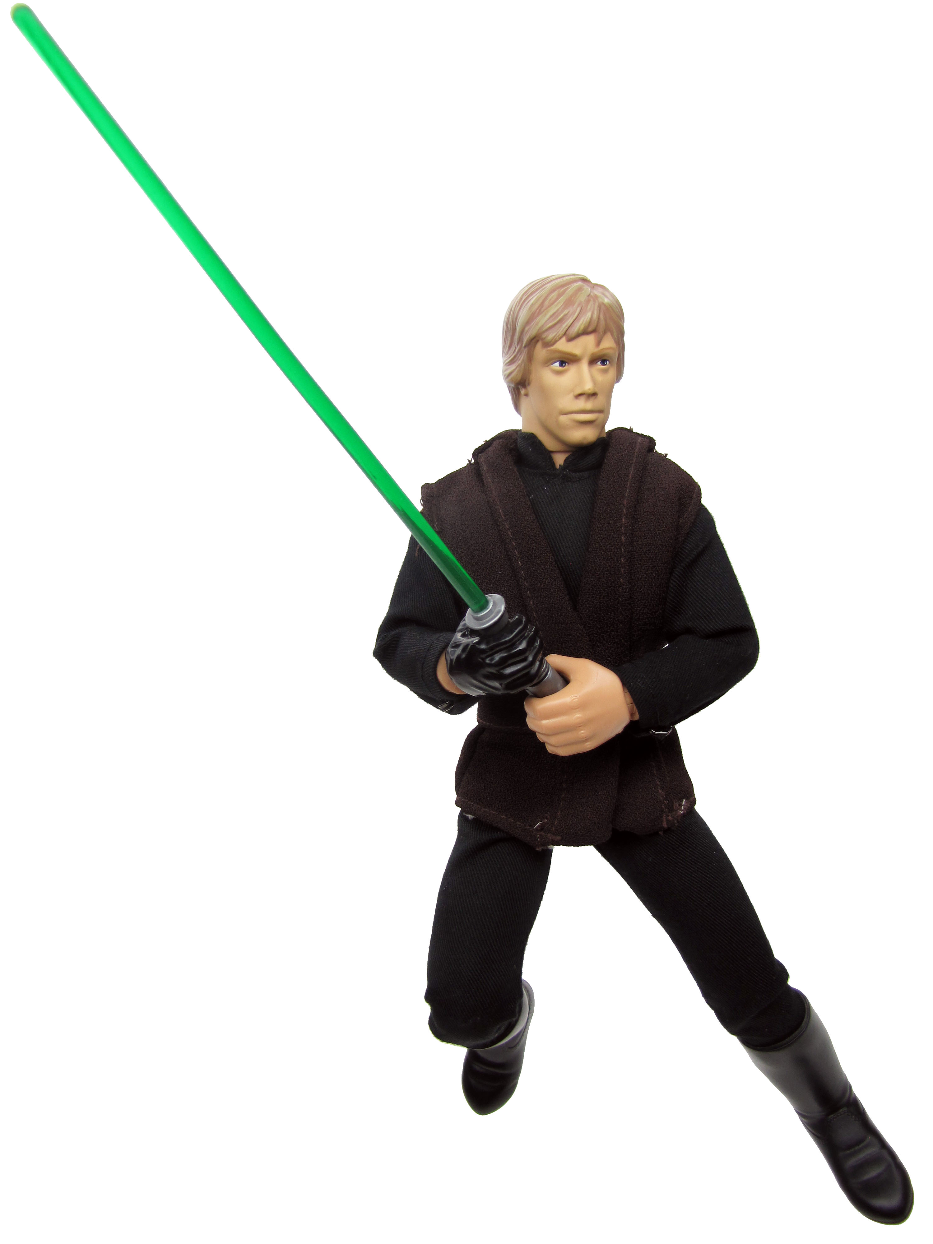 "1998 Star Wars Saga 12"" LUKE SKYWALKER JEDI KNIGHT Complete"